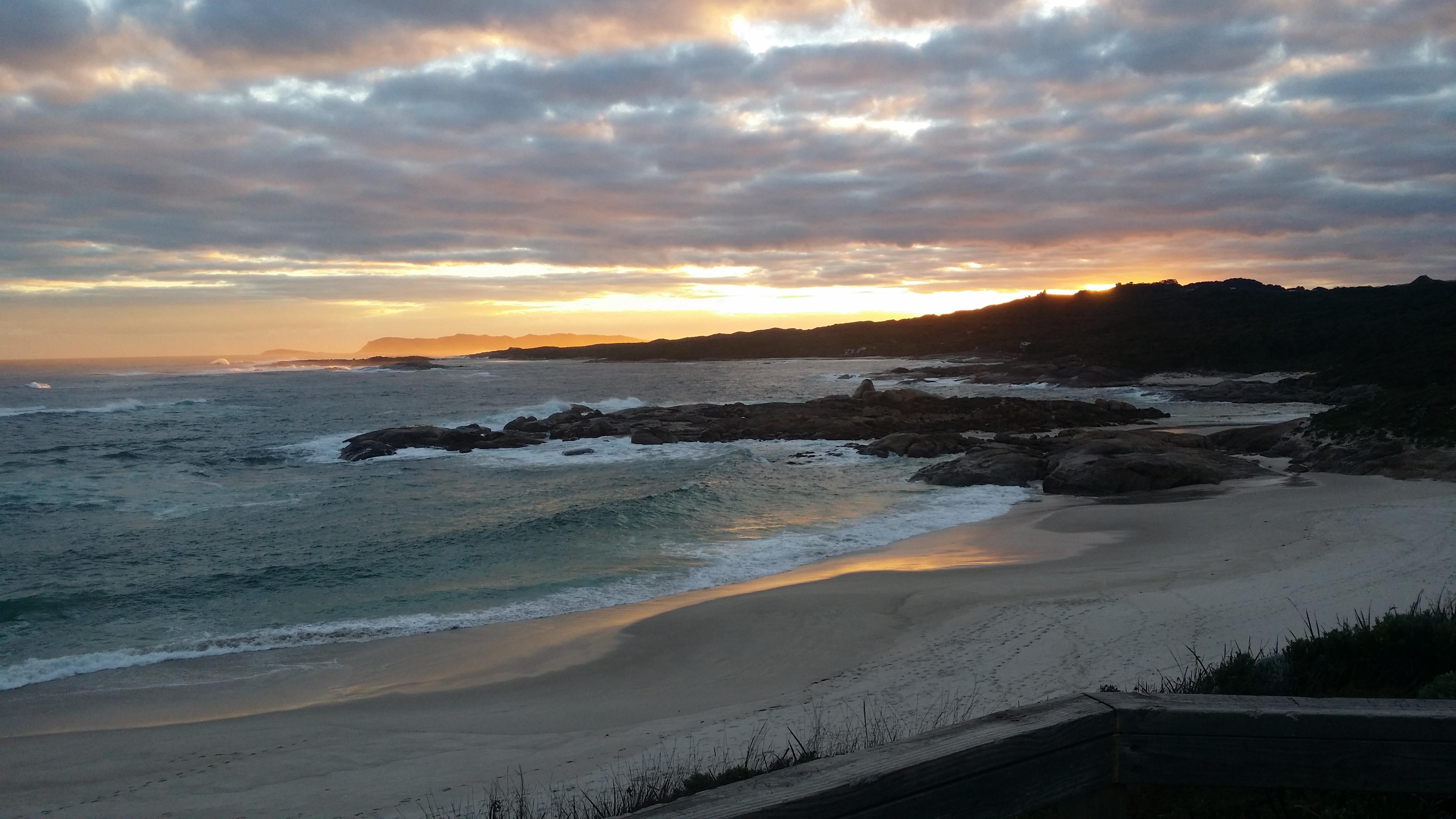 Sunset at Lights Beach